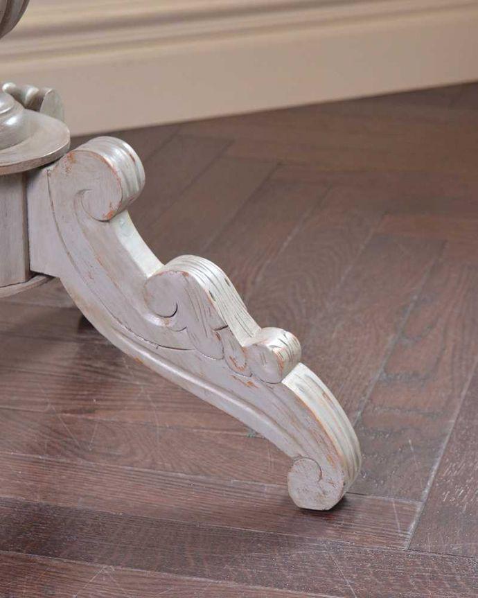 m-623-f   アンティークラウンドテーブルの脚