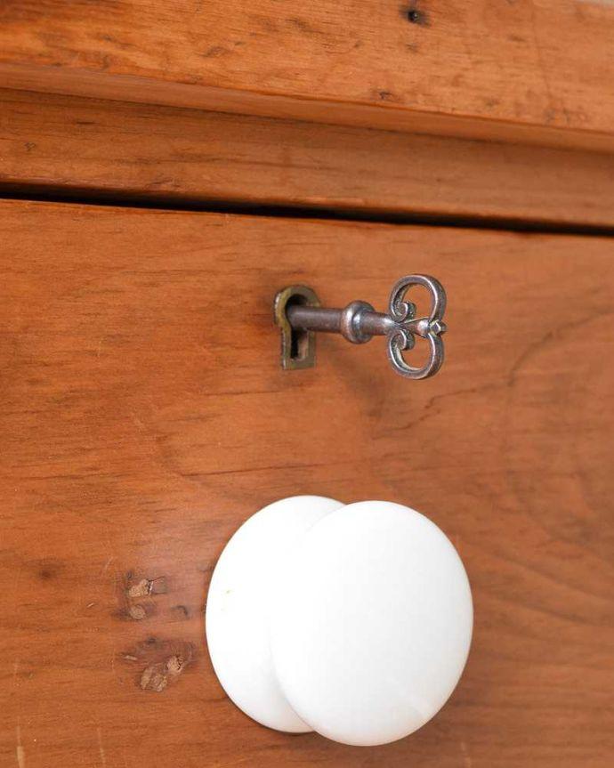 m-624-f アンティークドレッシングテーブルの鍵