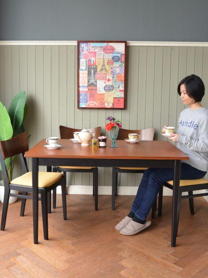 北欧スタイルのおしゃれなテーブル