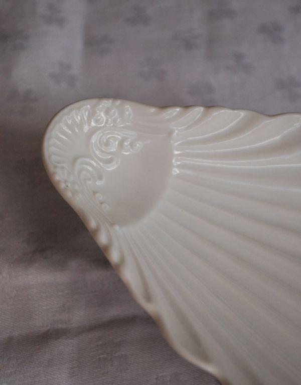 n1-141 陶器製のコンポート(F・シェル)のアップ