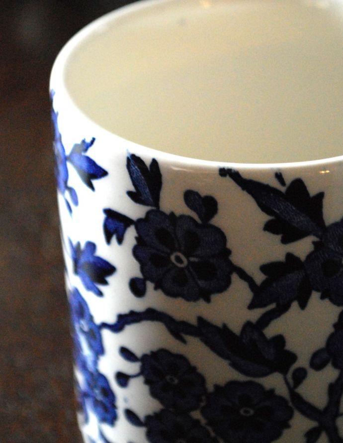 n1-197 マグカップ(ブルーアーデン)のアップ
