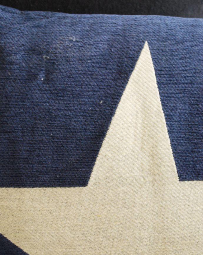 n10-016 ONESTARクッション(ブルー)のアップ