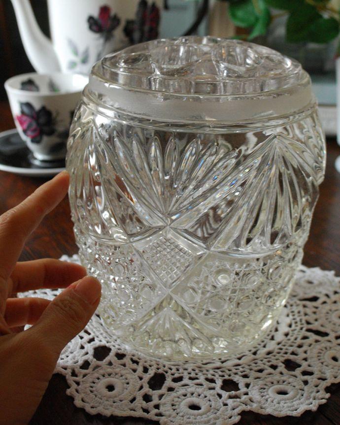 pg-4144 プレスドグラスの手入り
