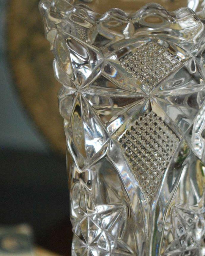pg-4298 プレスドグラス(花瓶)アップ