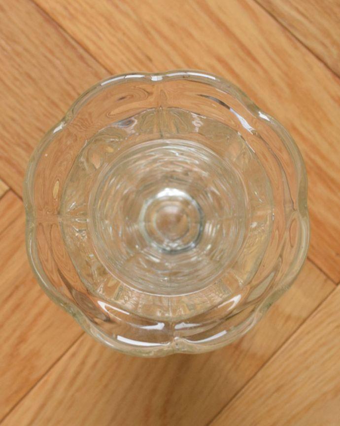 pg-4350 プレスドグラス(花瓶)の上から