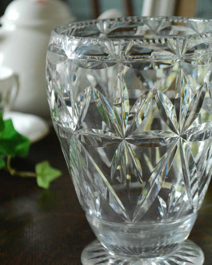 pg-4351 プレスドグラス(花瓶)アップ