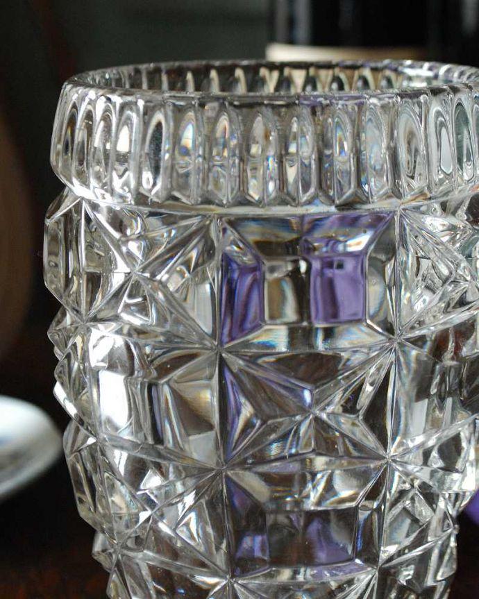 pg-4581 プレスドグラス(花瓶)アップ
