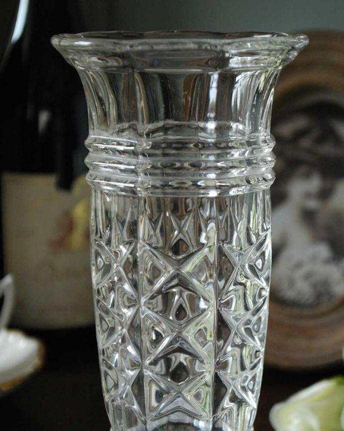 pg-4864 プレスドグラス(花瓶)アップ