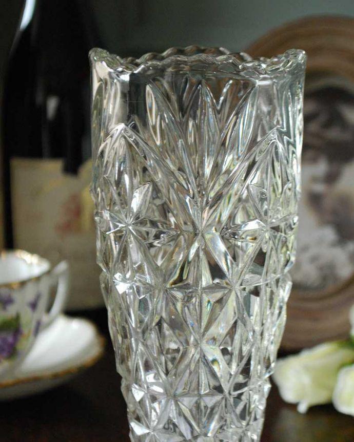 pg-4868 プレスドグラス(花瓶)アップ