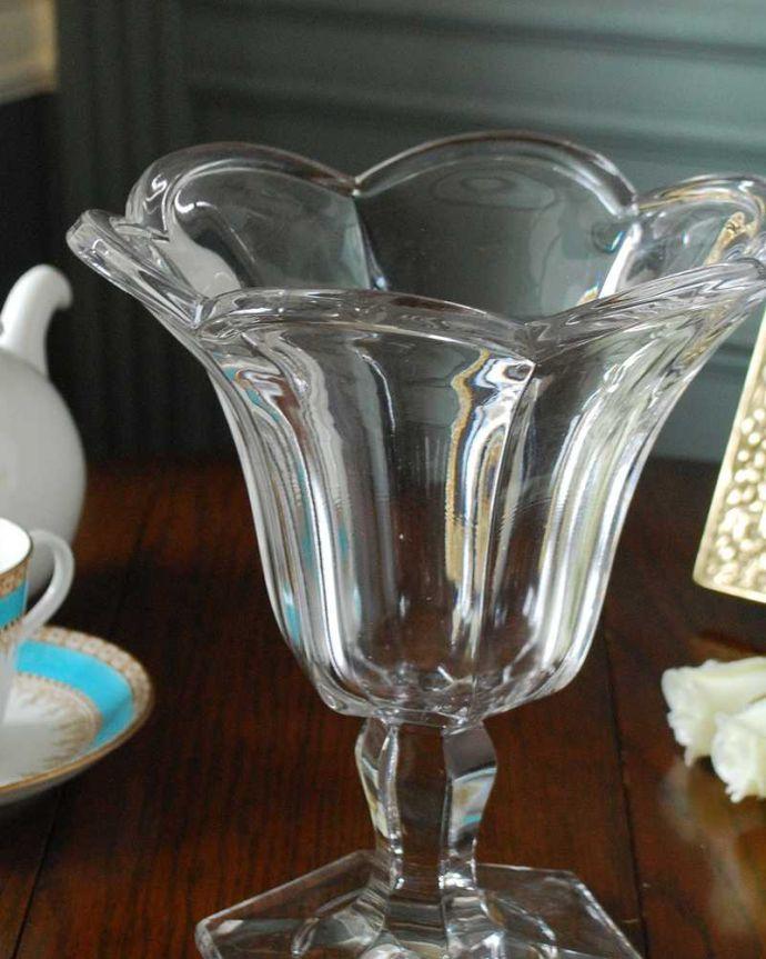 pg-5104 プレスドグラス(花瓶)アップ