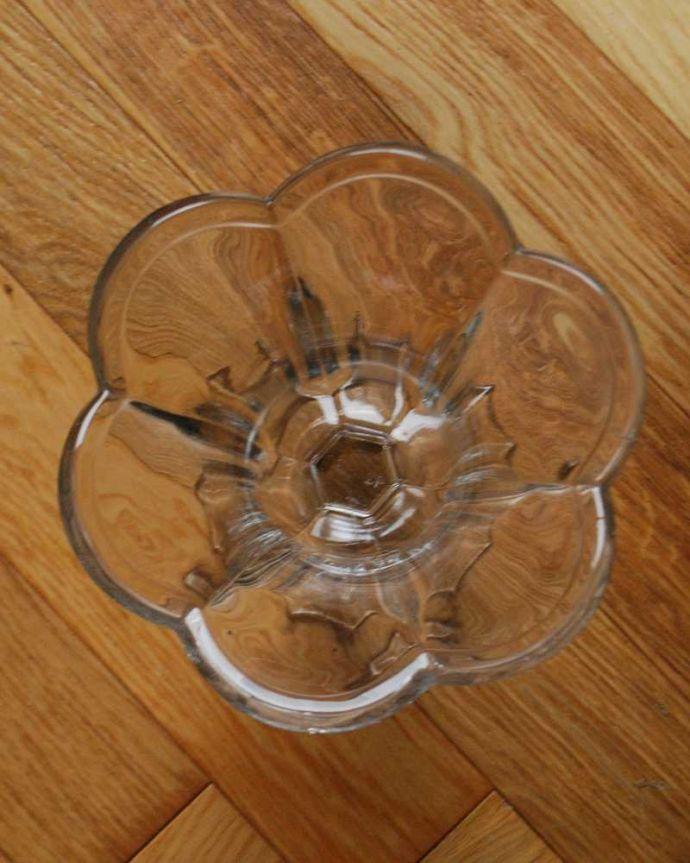pg-5104 プレスドグラス(花瓶)の上から