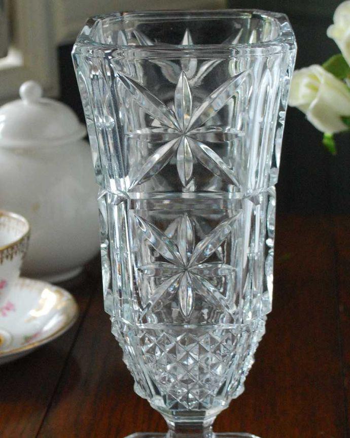 pg-5182 プレスドグラス(花瓶)アップ
