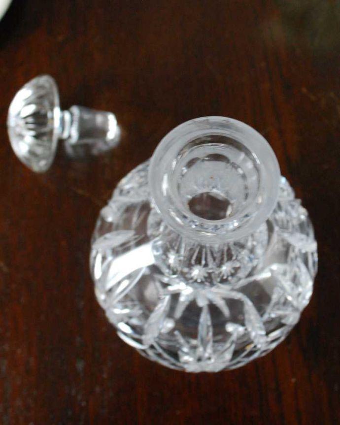 pg-5882 プレスドグラス(フレグランスボトル)の上から