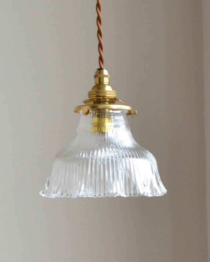 ペンダントライト 照明・ライティング ペンダントライト(コード・シャンデリア電球・ギャラリーA付き)。シェードは、手作りのため多少、誤差があったり、気泡やキズ、汚れが入っている場合もあります。(pl-028c)