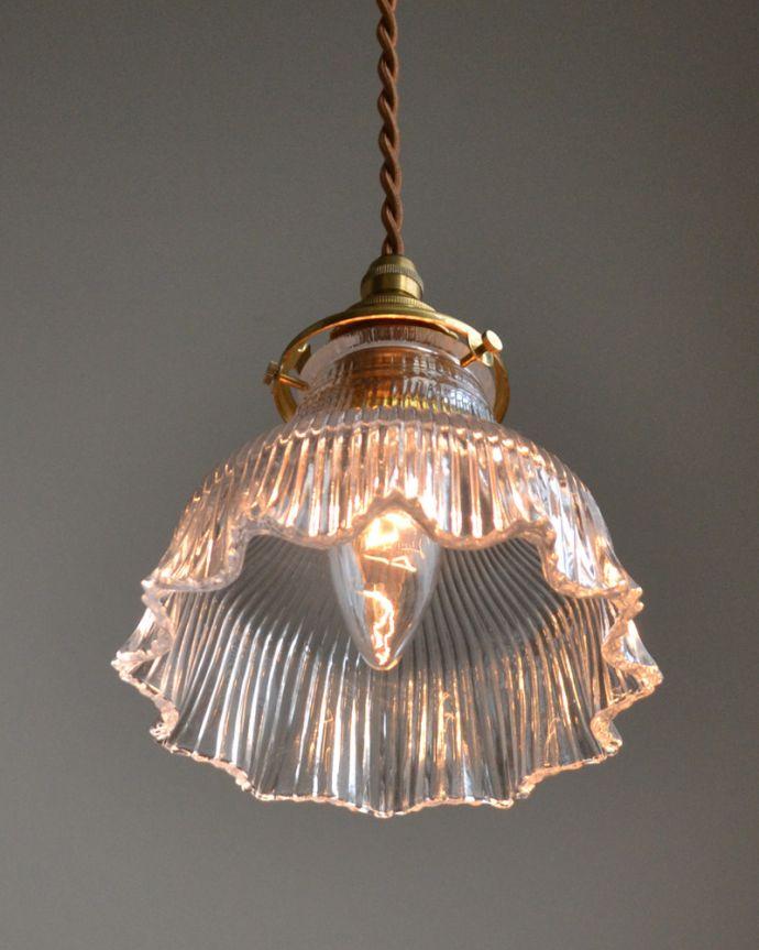 ペンダントライト 照明・ライティング ペンダントライト(コード・シャンデリア電球・ギャラリーA付き)。優しく、やわらかい灯りが、雰囲気のいいお部屋にしてくれます。(pl-028c)