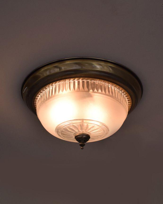 pl-168 シーリングランプの点灯