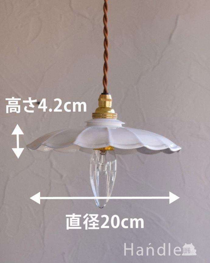 pl-169  ホウロウシェードのサイズ