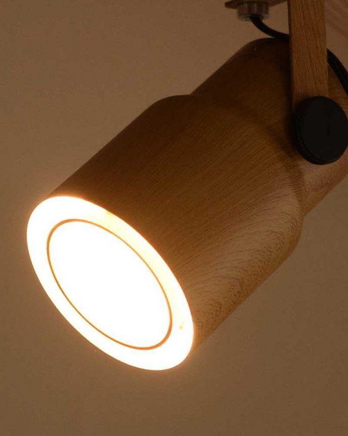 pl-202 ペンダントライトの点灯ズーム