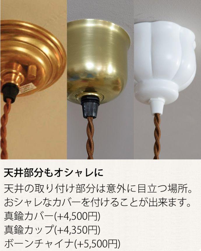 ペンダントライト 照明・ライティング スッキリとしたプリーツ模様が型押しされた真っ白なガラスシェード のペンダントライト(コード・シャンデリア電球・ギャラリーA付き) 。。(pl-280)