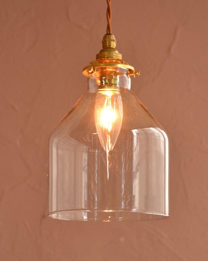 照明・ライティング ガラスシェード・ハウス・グレー お部屋のアクセサリーを楽しんでみませんか?ガラスシェードのペンダントライトは気軽で使いやすく人気の照明器具。(pl-294)