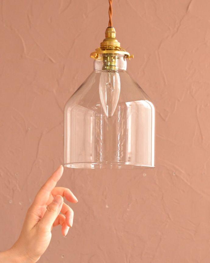 照明・ライティング ガラスシェード・ハウス・グレー 可愛らしいデザイン&サイズもともとフランスのアンティークをモチーフにしたデザインなので、灯りが点いていない時も可愛いフォルムでお部屋を彩ってくれます。(pl-294)