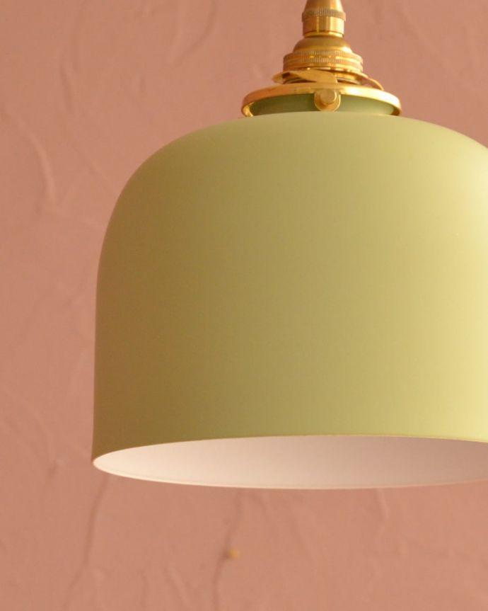 照明・ライティング アイアンシェード・フェズ・モスグリーン アンティーク風の可愛いデザインまるでアンティークのような可愛らしいデザイン。(pl-301)