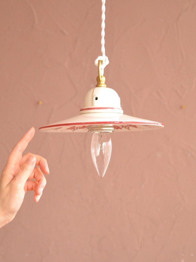 おしゃれなアンティーク調の照明器具