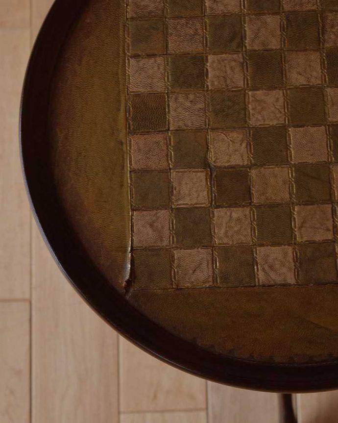 q-1025-f アンティークワインテーブルの縁