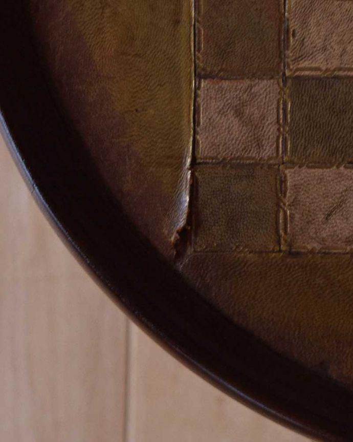 q-1025-f アンティークワインテーブルの傷