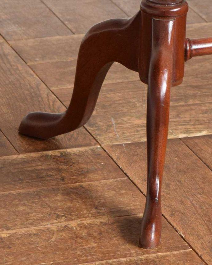 q-1027-f アンティークワインテーブルの脚