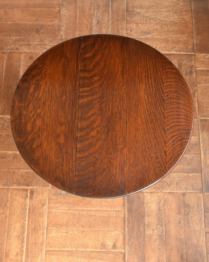 q-1034-f  アンティークゲートレッグテーブルの天板