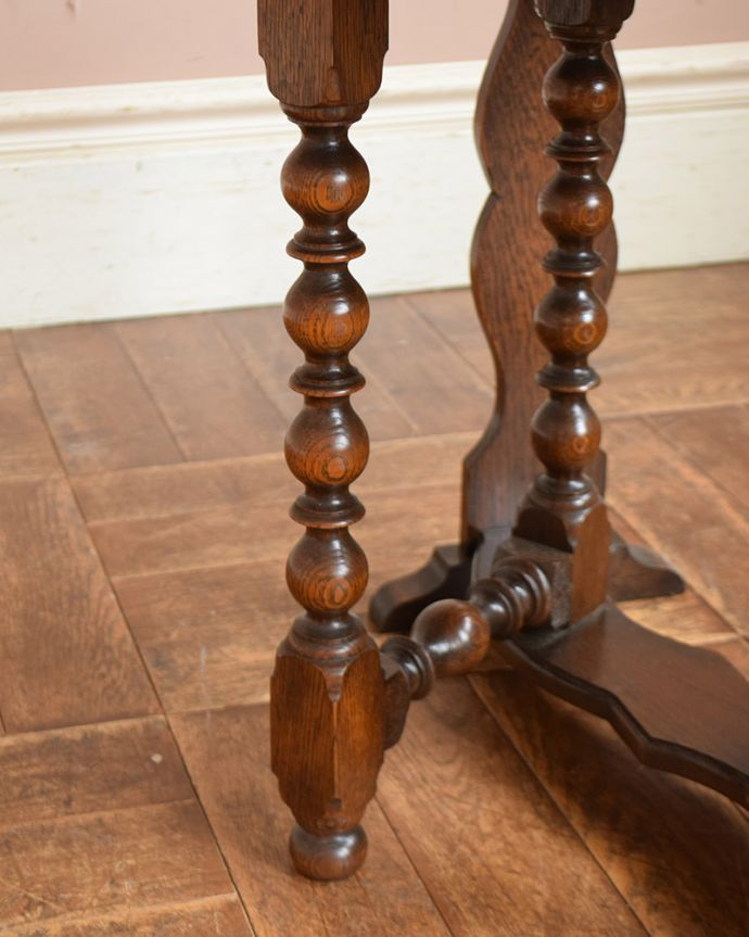 q-1034-f  アンティークゲートレッグテーブルの脚