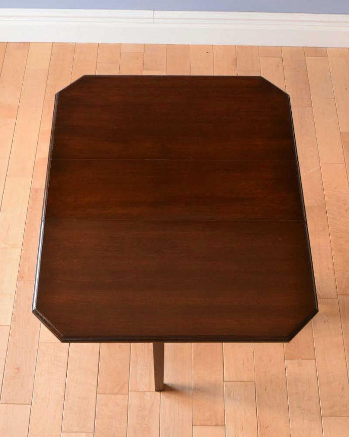 q-1085-f  アンティークゲートレッグテーブルの天板