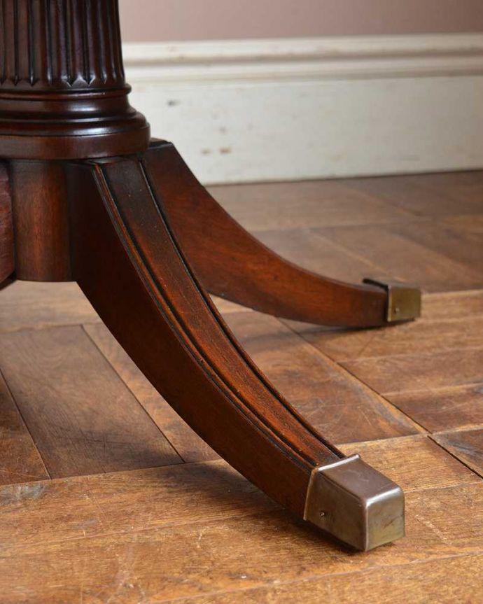 q-1143-f   アンティークラウンドテーブルの脚
