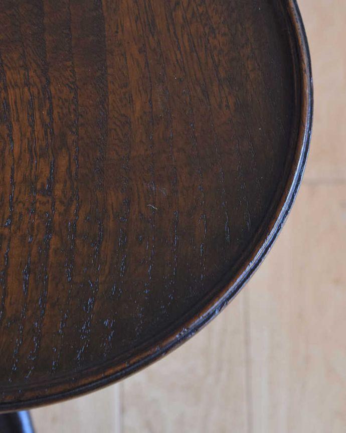 q-1150-f  アンティークワインテーブルの天板ズーム