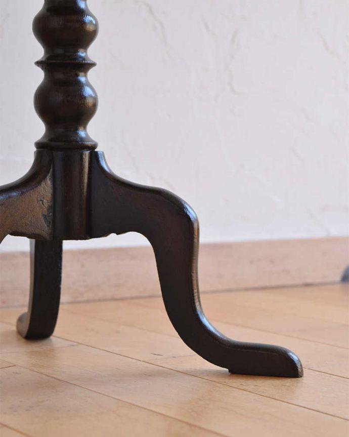q-1150-f  アンティークワインテーブルの脚