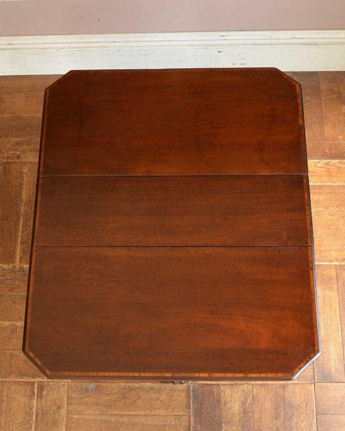 q-1156-f  アンティークゲートレッグテーブルの天板