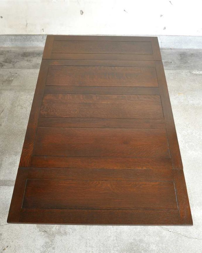 q-1166-f アンティークドローリーフテーブルの天板