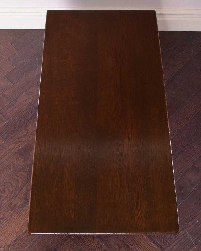 q-1179-f 英国アンティークコーヒーテーブルの天板