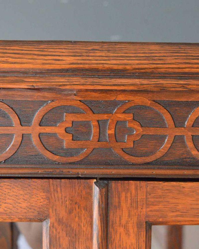 q-1185-f アンティークブックケースの装飾
