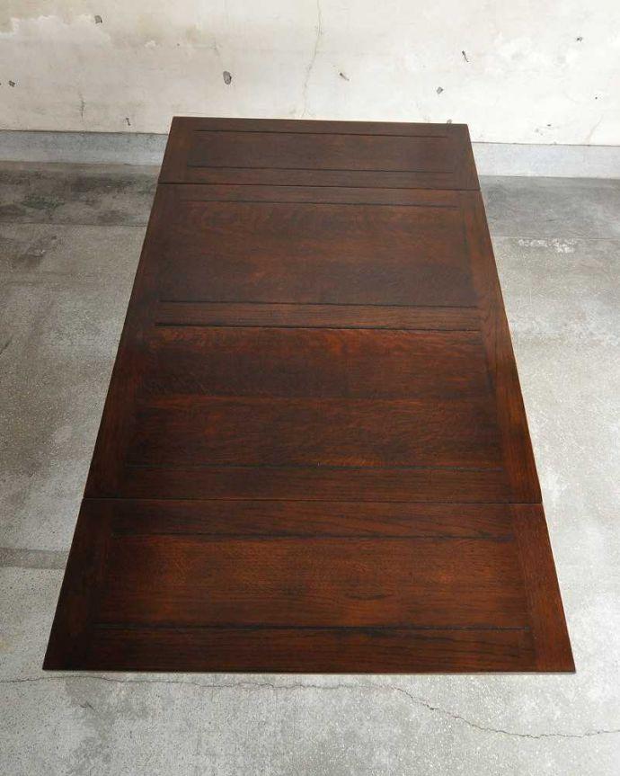 q-1232-f アンティークドローリーフテーブルの天板