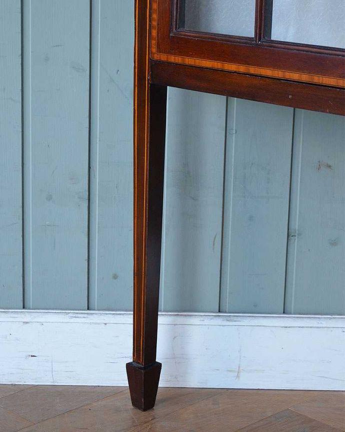 q-1244-f アンティークガラスキャビネットの脚