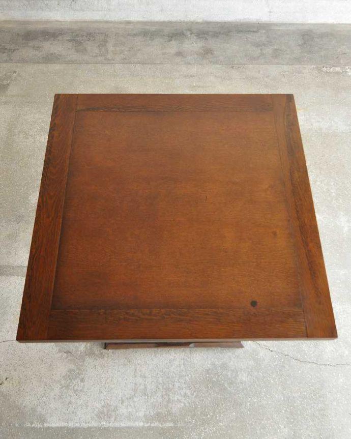 q-1249-f アンティークドローリーフテーブルの天板(閉じた状態)