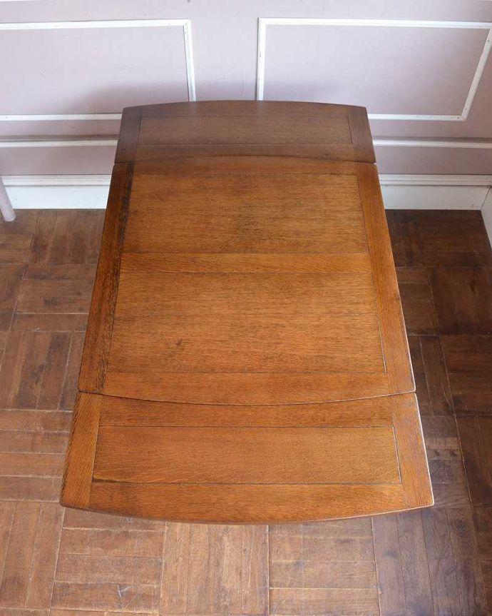 q-1250-f アンティークドローリーフテーブルの天板