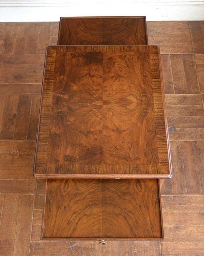 q-1294-f アンティークドローリーフテーブルの天板