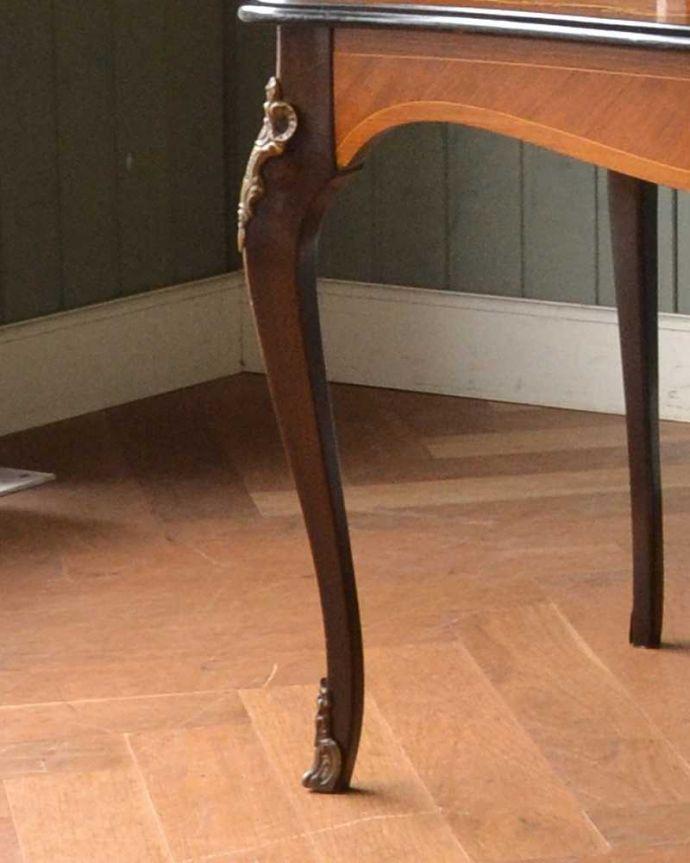 q-1419-f フレンチコーヒーテーブルの脚