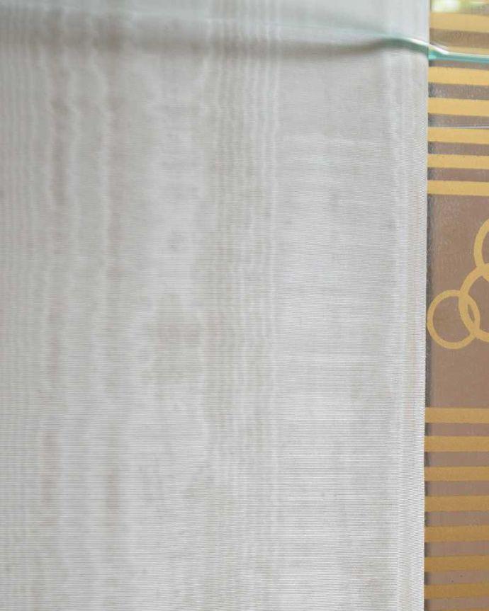 q-1429-f アンティークガラスキャビネットの背板の布