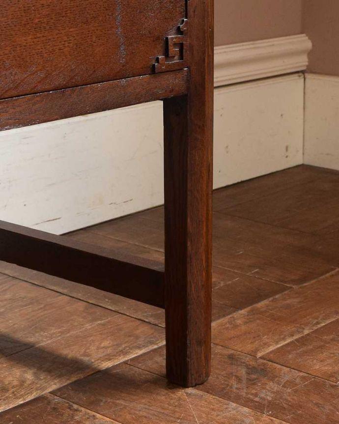 q-1458-f アンティークドレッシングテーブルの脚