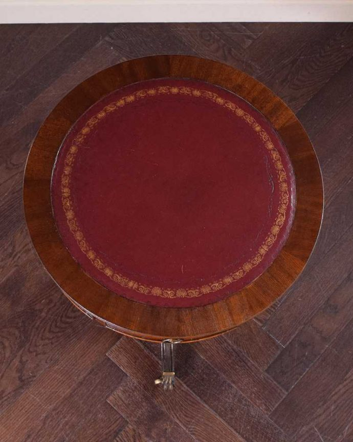 q-1463-f アンティークオケージョナルテーブルの天板