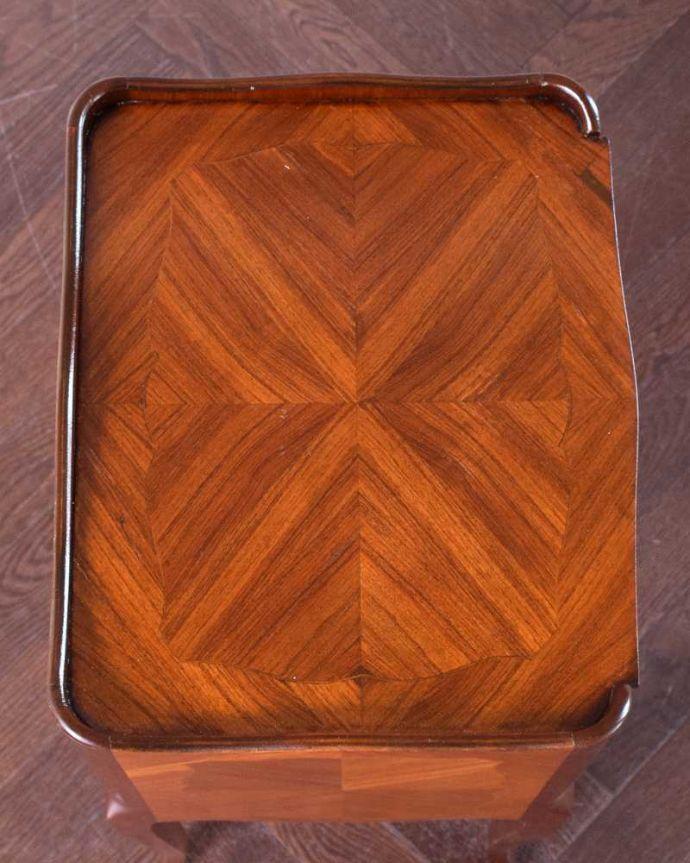 q-1465-f アンティークナイトテーブルの天板